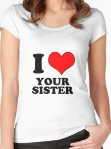 sister Women's Fitted Scoop T-Shirt