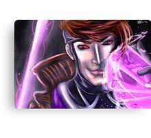 Gambit Headshot Canvas Print