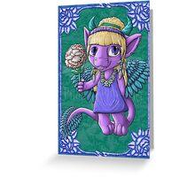 Kootie Patootie #3: Amelia Greeting Card