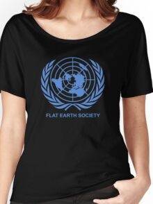 Flat Earth Society Women's Relaxed Fit T-Shirt