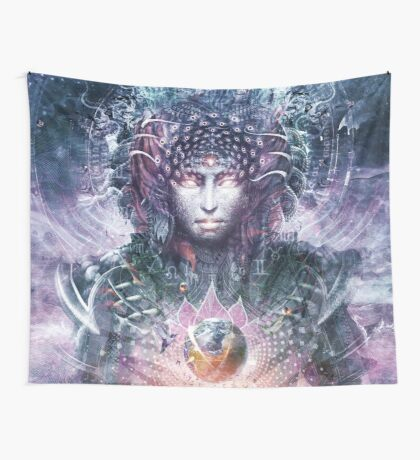 Ocean Atlas Wall Tapestry