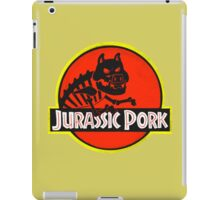 jurassic pork iPad Case/Skin