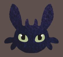 How to Train Your Dragon - Toothless Face Kids Clothes