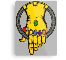 HAND OF THANOS Metal Print