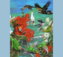 GALLIMAUFRY ~ TASMANIANA ~ Colours in Flight by tasmanianartist Unisex T-Shirt