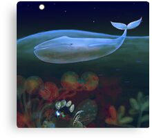 underwater bedroom Canvas Print