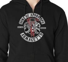 Sons of Apokolips Zipped Hoodie