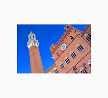 Buildings from main square from Siena. Unisex T-Shirt
