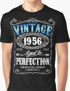 Vintage 1956 aged to perfection 60th birthday gift for men 1956 birthday Graphic T-Shirt
