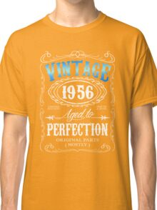 Vintage 1956 aged to perfection 60th birthday gift for men 1956 birthday Classic T-Shirt
