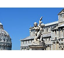 Monuments from Pisa, Italy. Photographic Print
