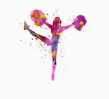 young woman cheerleader 04 Unisex T-Shirt