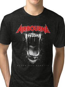 JOHN03 Airbourne Rock Band TOUR 2016 Tri-blend T-Shirt