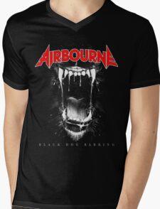 JOHN03 Airbourne Rock Band TOUR 2016 Mens V-Neck T-Shirt