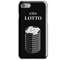 exo lotto iPhone Case/Skin