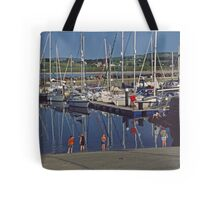 Marina with children Tote Bag