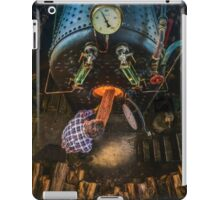 The Paddle Steamer Fireman iPad Case/Skin
