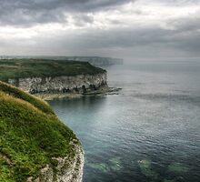 Clouds over Flamborough Cliffs by Ms-Bexy