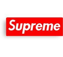 Supreme Logo  Canvas Print