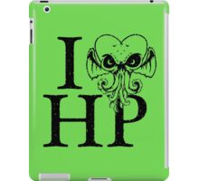 I LOVE(Craft) HP iPad Case/Skin