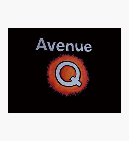 AVENUE Q Photographic Print