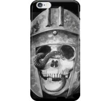 A Snake and the Illiyrian Soldier iPhone Case/Skin