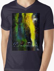 Rainy Evening Mens V-Neck T-Shirt