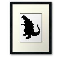 Gojira Framed Print