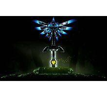 Sword Triforce Photographic Print