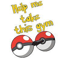 Help me take this Gym! - Pokemon Photographic Print