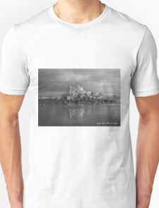 Shag Rock in Black and White Unisex T-Shirt