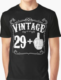 Vintage middle finger salute 30th birthday gift funny 30 birthday 1986 Graphic T-Shirt