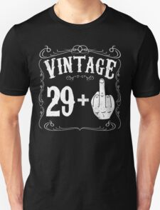 Vintage middle finger salute 30th birthday gift funny 30 birthday 1986 Unisex T-Shirt