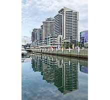 Docklands Reflections, Melbourne Photographic Print