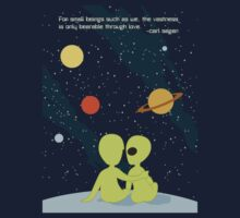 Carl Sagan Alien Love by monkeyminion