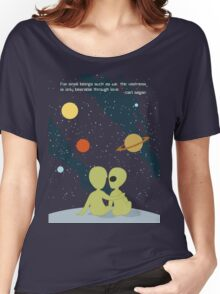 Carl Sagan Alien Love Women's Relaxed Fit T-Shirt