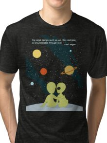Carl Sagan Alien Love Tri-blend T-Shirt