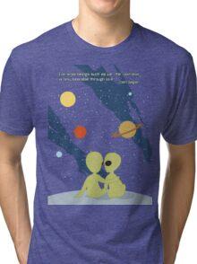 Carl Sagan Alien Love Tri-blend T-Shirt