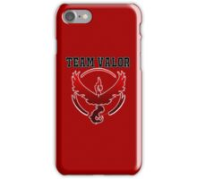 Team Valor Jersey/School Style iPhone Case/Skin