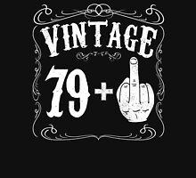 Vintage middle finger salute 80th birthday gift funny 80 birthday 1936 Unisex T-Shirt