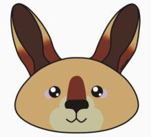 Kangaroo - Australian animal design One Piece - Short Sleeve