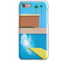 David Hockney A Bigger Splash iPhone Case/Skin