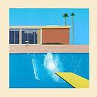 David Hockney A Bigger Splash by triptees