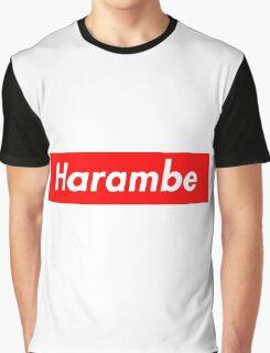 harambe supreme Graphic T-Shirt