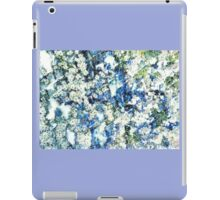 Blue and White Daisies iPad Case/Skin