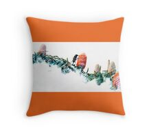 Banksia and New Holland Throw Pillow