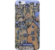 Edinburgh painting iPhone Case/Skin