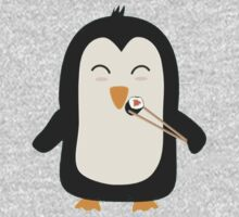 Penguin with sushi One Piece - Long Sleeve