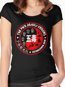 THE FIVE DEADLY VENOMS Women's Fitted Scoop T-Shirt