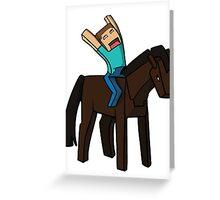 Horse Rider Greeting Card